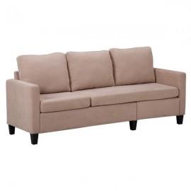 Double Chaise Longue Combination Sofa Beige