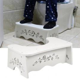 White Squatting Toilet Stool Bathroom Squat Toilet Stool 7 inch