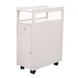 (22 x 45 x 63cm)Bathroom With Narrow Cabinet Shelf