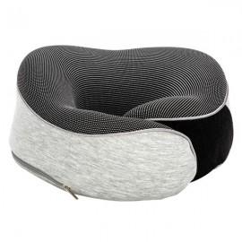 [US-W]Functional Neck Pillow SN-FC583 Hook and Loop Fastener Grey