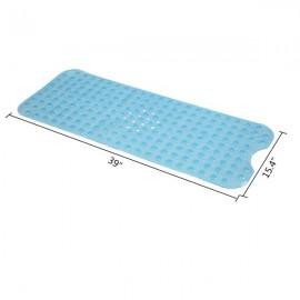 Bathroom Bathtub Non-slip Bath Mat 99*39cm Blue