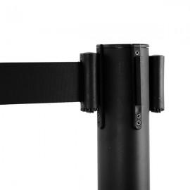 4pcs 32*90CM Black Rope Telescopic Railings Black